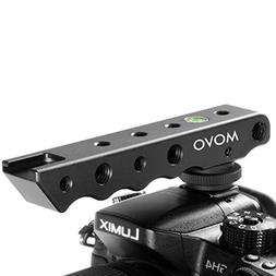 Movo Photo SVH6 Video Stabilizing Top Handle & Cold Shoe Ext