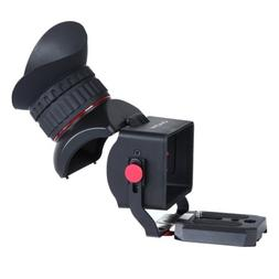 Movo Photo VF40 Universal 3X LCD Video Viewfinder with Flip-