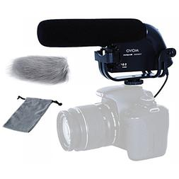 Movo VXR4000 HD Condenser Prosumer Video Microphone for DSLR