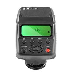 Neewer NW-610II Mini LCD Display On-camera Flash Speedlite f