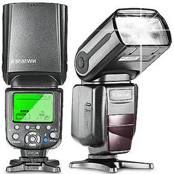 Neewer NW565EX E-TTL Slave Flash Speedlite with Flash Diffus