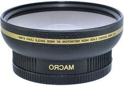 New 72mm Wide Angle Macro Lens for NiNikon Nikkor AF-S 18-20