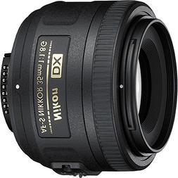 Nikon 35mm f/1.8G AF-S DX Lens for Nikon DSLR Cameras