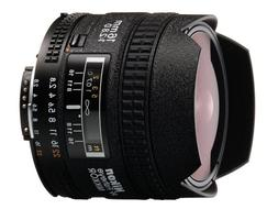 Nikon AF FX Fisheye-NIKKOR 16mm f/2.8D Fixed Lens with Auto