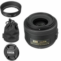 Nikon AF-S DX NIKKOR 35mm f/1.8G Lens with Auto Focus for Ni