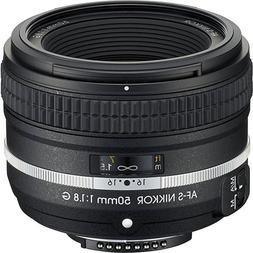 Nikon AF-S FX NIKKOR 50mm f/1.8G Special Edition Fixed Zoom