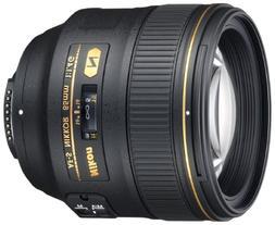 Nikon AF-S FX NIKKOR 85mm f/1.4G Lens with Auto Focus for Ni
