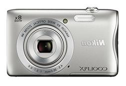Nikon COOLPIX S3700 Digital Camera with 8x Optical Zoom and