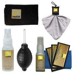 Nikon Cleaning Combo Kit: Nikon 3-Piece Lens Cleaning Kit +