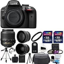 Nikon D3300 24.2 MP CMOS Digital SLR Camera with 18-55mm f/3
