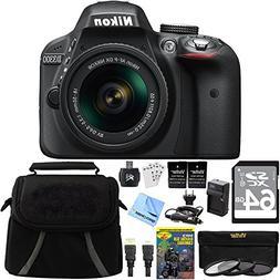 Nikon D3300 24.2 MP Digital SLR Camera with AF-S DX NIKKOR 1