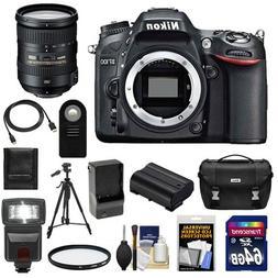 Nikon D7100 Digital SLR Camera Body with 18-200mm Lens + 64G