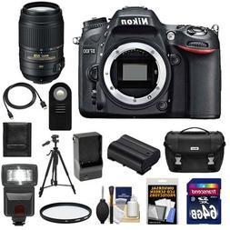 Nikon D7100 Digital SLR Camera Body with 55-300mm Lens + 64G