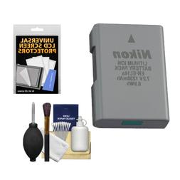 Nikon EN-EL14a Rechargeable Li-ion Battery with Cleaning Kit
