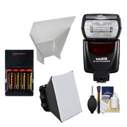 Nikon SB-700 AF Speedlight Flash with Softbox + Bounce Refle