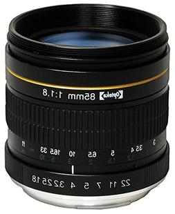 Opteka 85mm f/1.8 Manual Focus Aspherical Medium Telephoto L