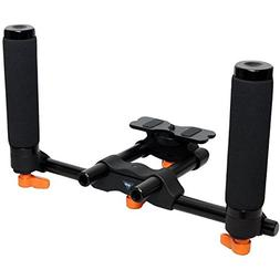 Opteka CXS-200 Dual Grip Handheld Video Stabilizer Support S