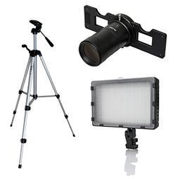 Opteka Slide Copier Studio Lighting Kit for Nikon D4S, D3S,