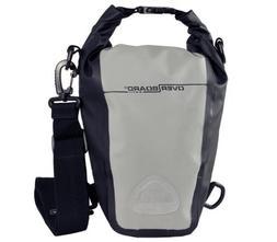 OverBoard Waterproof Roll-Top SLR Camera Bag, Grey/Black, 7-