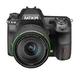 Pentax K-3 lens kit w/ 18-135mm WR 24MP SLR Camera with 3.2-