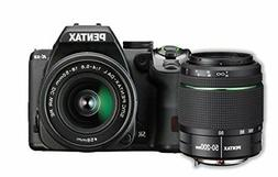 Pentax K-S2 20MP DSLR Two Lens Kit w/18-50mm WR & 50-200mm W