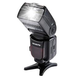 Polaroid Professional Hot Shoe Flash For All Nikon DSLR Came