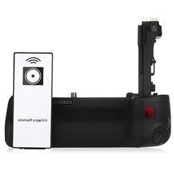 Powerextra BG-E14 Vertical Battery Grip for Canon EOS 70D/80