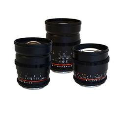 Rokinon Canon EF-Mount Three Cine Lens Bundle with 24mm T1.5