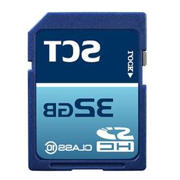 32GB SD Class 10 SCT Professional High Speed Memory Card SDH