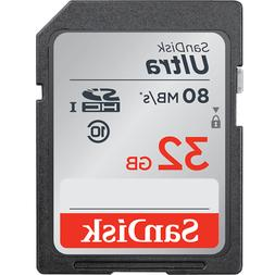 SD Memory Card SDHC Class 10 32GB Ultra UHS-I For Canon Fits