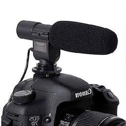 SG-108 Camera Shotgun DV Stereo Microphone for Canon EOS Reb