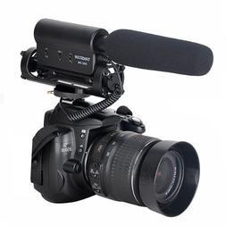 SGC-598 Photography Interview Shotgun MIC Microphone for Nik