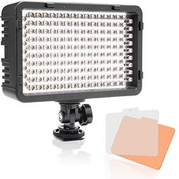 Selens 168 LED Dimmable Ultra High Power Panel Digital Camer