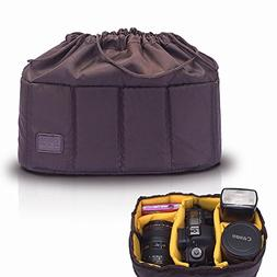 Selens High-Capacity Shockproof DSLR SLR Camera Padded Bag C
