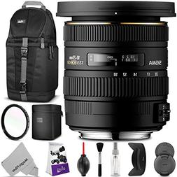 Sigma 10-20mm f/3.5 EX DC HSM ELD SLD Wide-Angle Lens for Ni