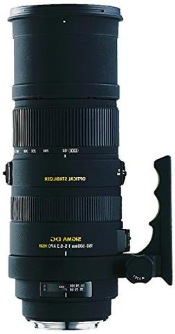 Sigma 150-500mm f/5-6.3 AF APO DG OS HSM Telephoto Zoom Lens