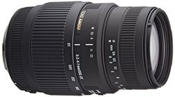 Sigma 70-300mm f/4-5.6 DG Macro Telephoto Zoom Lens for Cano