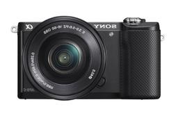 Sony Alpha a5000 Mirrorless Digital Camera with 16-50mm OSS