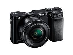 Sony Alpha a6000 Mirrorless Digital Camera with 16-50mm Powe