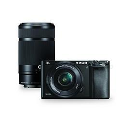 Sony Alpha a6000 Mirrorless Digital Camera w/ 16-50mm and 55