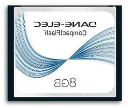 Sony DSLR-A100 Digital Camera Memory Card 8GB CompactFlash M