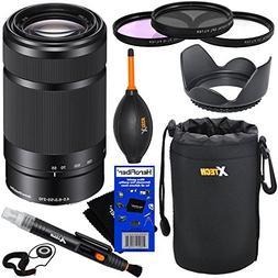 Sony E 55-210mm f/4.5-6.3 OSS E-Mount Telephoto Zoom Lens  f