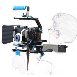 SunSmart Professional DSLR Rig + Follow Focus + Matte Box +