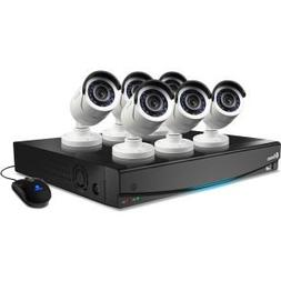 Swann 8-Channel 960H Digital Video Recorder with 6 x 650 TVL