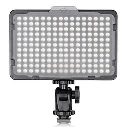 TOLIFO Photo Studio 176 LED Ultra Bright Dimmable On Camera