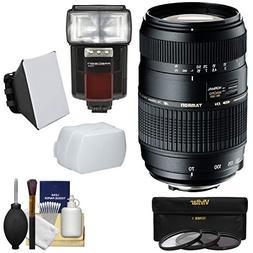 Tamron 70-300mm f/4-5.6 Di LD Macro 1:2 Zoom Lens  with 3 Fi