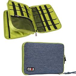 Travel Organizer, BUBM Universal Double Layer Travel Gear Or