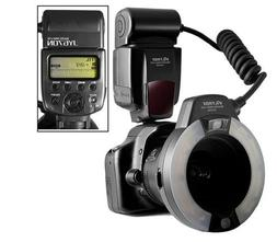 VILTROX JY670N i-TTL Macro Ring Flash Speedlite Light Flashg