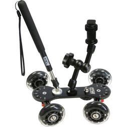 Vidpro SK-22 Professional Skater Dolly for Digital SLR Camer