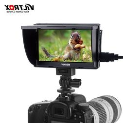 Viltrox DC-50 5'' DSLR TFT Camera LCD Video Field Monitor HD